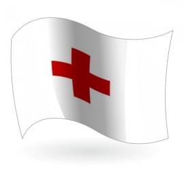 Bandera de la Cruz Roja