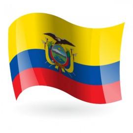 Bandera de la República del Ecuador