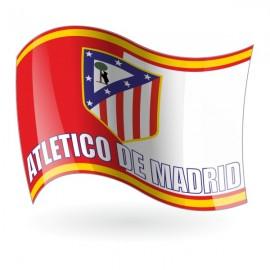 Bandera del Club Atlético de Madrid mod. 2