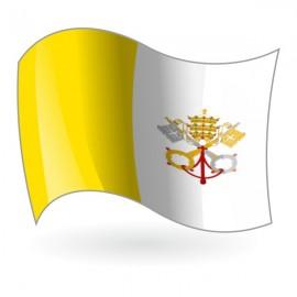 Bandera del Estado de la Ciudad del Vaticano
