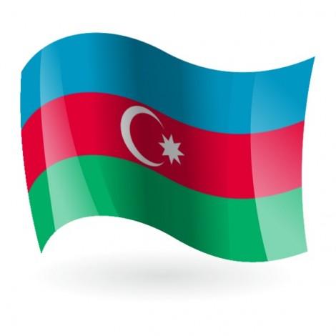 Bandera de Azerbaiyan