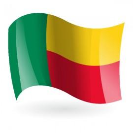 Bandera de la República de Benín