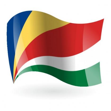 Bandera de la República de las Seychelles