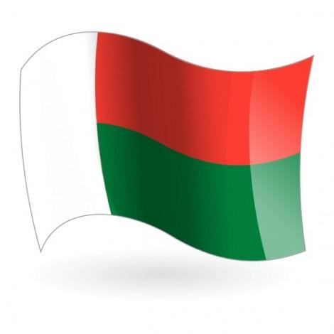 Bandera de la República de Madagascar