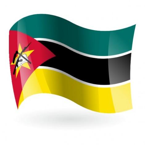 Bandera de República de Mozambique