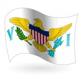 Bandera de las Islas Vírgenes de Estados Unidos