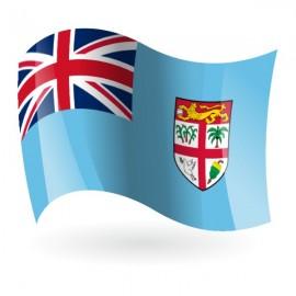 Bandera de la República de Fiyi