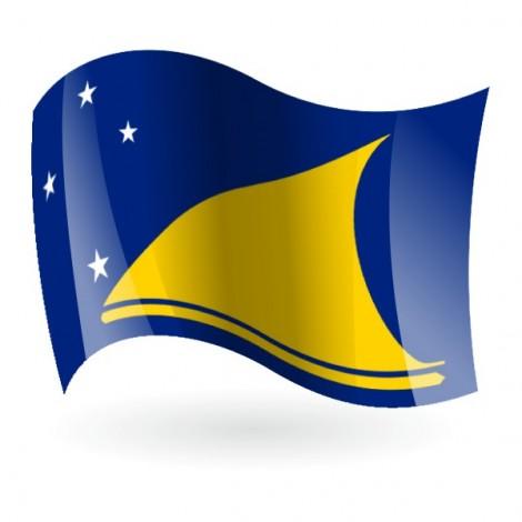 Bandera de Tokelau