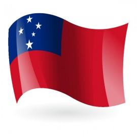 Bandera del Estado Independiente de Samoa ( Occidental )