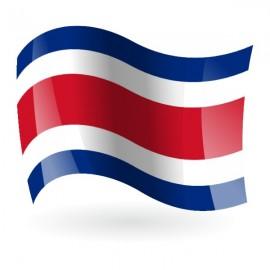 Bandera de la  República de Costa Rica s/e