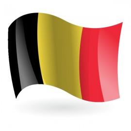 Bandera de Bélgica náutica