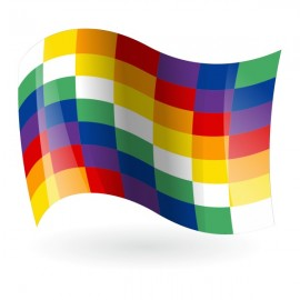 Bandera de Bolivia Plurinacional