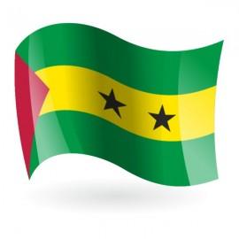 Bandera de la República Democrática Santo Tomé y Príncipe