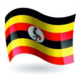 Bandera de la República de Uganda