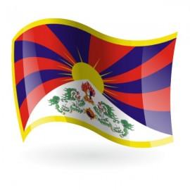 Bandera de El Tibet ( Región Autónoma )