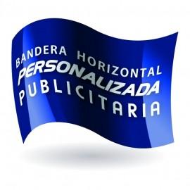 Bandera 100 x 150 cm. raso personalizada / publicitaria