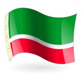 Bandera de la República de Chechenia